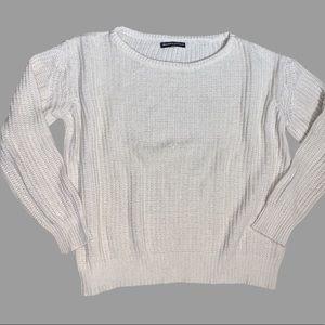 Brandy Melville Cream/Beige Sweater O/S